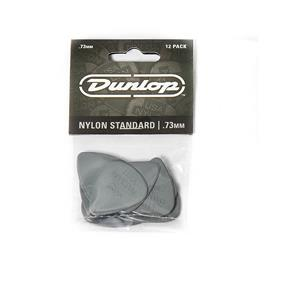 Dunlop Nylon Standard Plektrum, 0,73 mm, grau