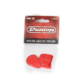 Dunlop Nylon Jazz III, 1,38mm, rot