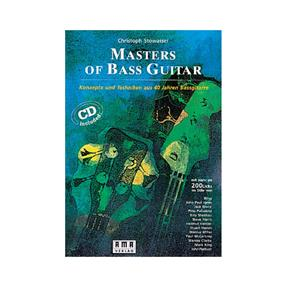 AMA Masters of Bass Guitar mit CD