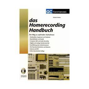 GC Carstensen Verlag Das Homerecording Handbuch mit CD