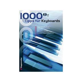 Voggenreiter 1000 Tipps für Keyboard mit CD