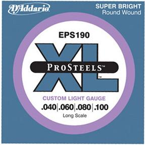D'addario EPS190 Custom Light