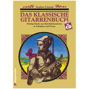 Voggenreiter Das Klassische Gitarrenbuch mit CD
