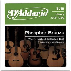 D'addario EJ18 Heavy Phosphor Bronze