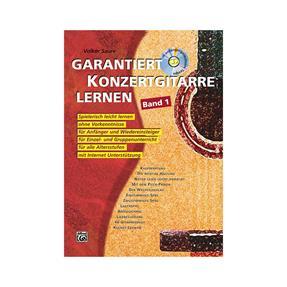 Alfred Publishing Garantiert Konzertgitarre lernen 1