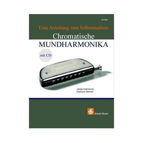 Schell Music Chromatische Mundharmonika mit CD