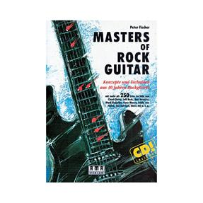 AMA Masters of Rockguitar mit CD