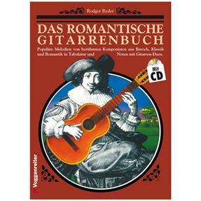 Voggenreiter Das Romantische Gitarrenbuch 1 mit CD