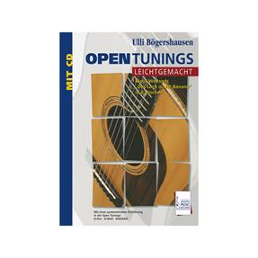 Acoustic Music Books Open Tunings leichtgemacht mit CD