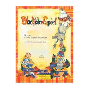Breitkopf Verlag BlockflötenSpiel Heft 1