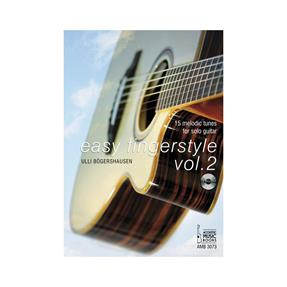 Acoustic Music Books Easy Fingerstyle Vol. 2 mit CD
