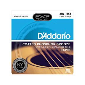 D'addario EXP16 Light Coated Phosphor Bronze