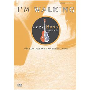 AMA Jazz Bass - I'm Walking mit CD