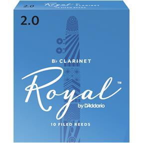 D'addario Woodwinds Royal 2,0 Bb- Klarinette