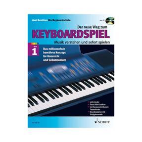 Schott Verlag Der neue Weg zum Keyboardspiel 1 mit CD