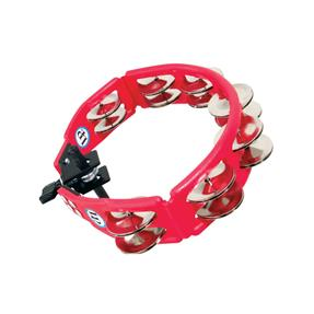 Latin Percussion LP161 Tambourine Cyclops Red