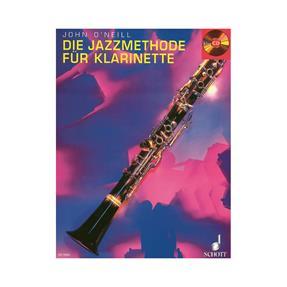 Schott Verlag Die Jazzmethode für Klarinette mit CDc