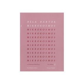 Boosey&Hawkes Bartok, Mikrokosmos Band 1