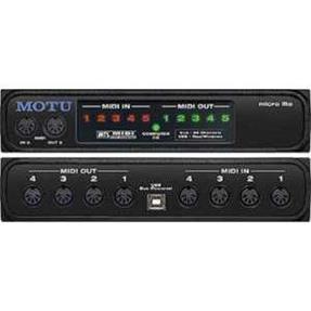 Motu Micro Lite 5x5 USB Midi IF