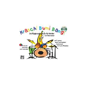Alfred Publishing Kräsch Bum Bäng mit CD