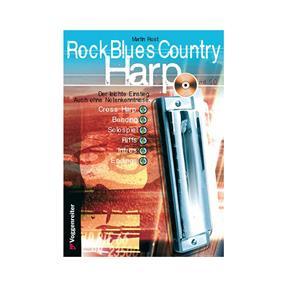Voggenreiter Rock Blues Country Harp mit CD