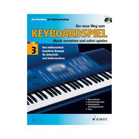 Schott Verlag Der neue Weg zum Keyboardspiel 3 mit CD