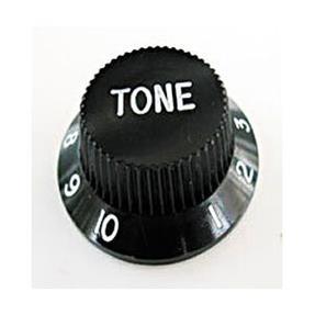 Göldo Potiknopf Strat Tone Black