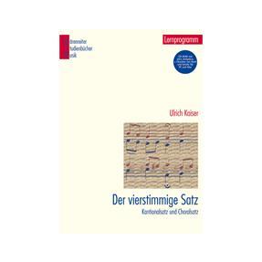 Bärenreiter Der Vierstimmige Satz  mit CD-Rom