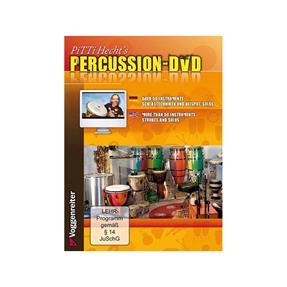 Voggenreiter Pitti Hechts Percussion DVD