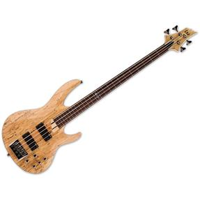LTD B-204SM-FL NS Fretless, Natural Satin