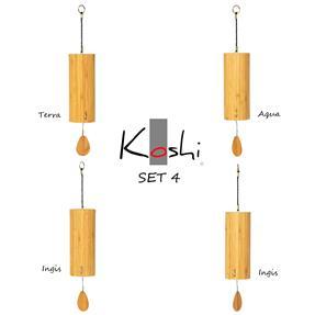 Koshi Klangspiel Set 4 Stk Terra, Aqua, Ingis u. Aria