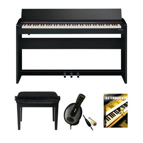 Roland F-140R-CB Digitalpiano Bundle