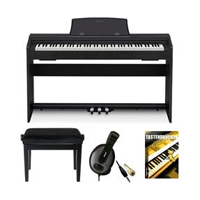 Casio PX-770 BK Digitalpiano Bundle