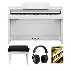 Yamaha CSP-150 WH Digitalpiano Bundle