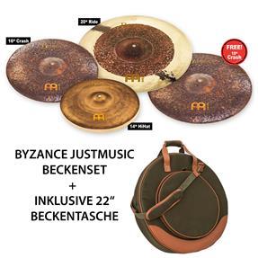 Meinl Byzance JustMusic Edition Set 4 Becken inkl.Tasche