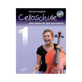 Schott Verlag Celloschule Band 1 mit CD