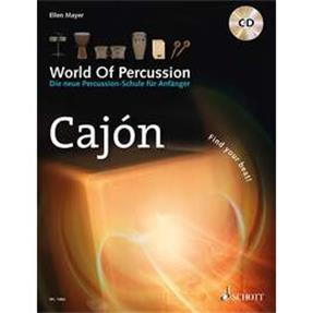 Schott Verlag World of Percussion Cajon mit CD