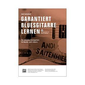 Alfred Publishing Garantiert Bluesgitarre Lernen mit CD