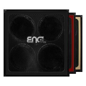 ENGL Retro Cabinet Straight, E412RG Black Frame