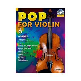 Schott Verlag Pop for Violin 6 mit CD