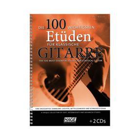 Hage Musikverlag Die 100 wichtigsten Etüden