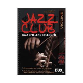 DUX Jazz Club mit 2 CDs für Violine