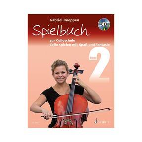 Schott Verlag Celloschule Band 2 mit CD - Spielbuch