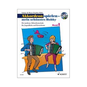 Schott Verlag Akkordeon spielen mein schönstes Hobby