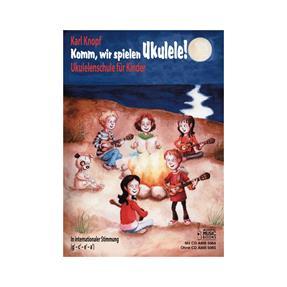 Acoustic Music Books Komm, wir spielen Ukulele mit CD