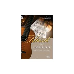 Acoustic Music Books Klassik für Fingerpicker mit CD