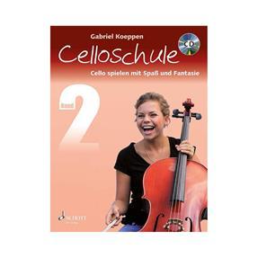 Schott Verlag Celloschule Band 2 mit CD