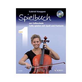 Schott Verlag Celloschule Band 1 mit CD - Spielbuch