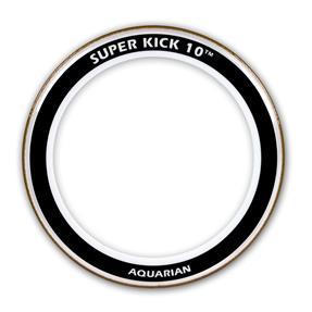 """Aquarian 22"""" Super-Kick 10 Clear - Bassdrumfell"""
