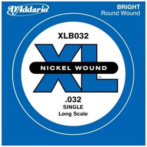D'addario Einzelsaite Bass .032, Long Scale